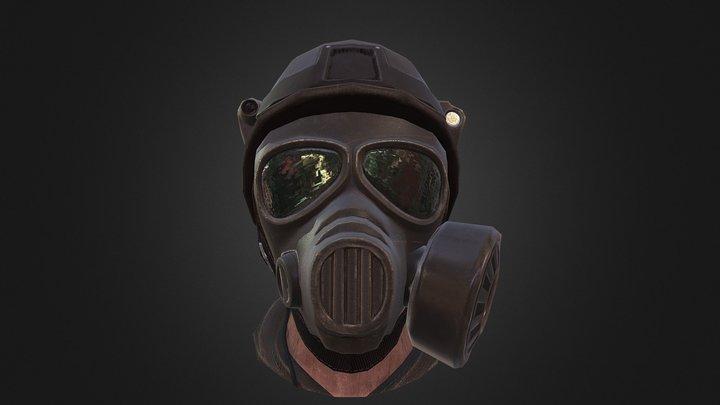 SFM-16 Gas Mask 3D Model