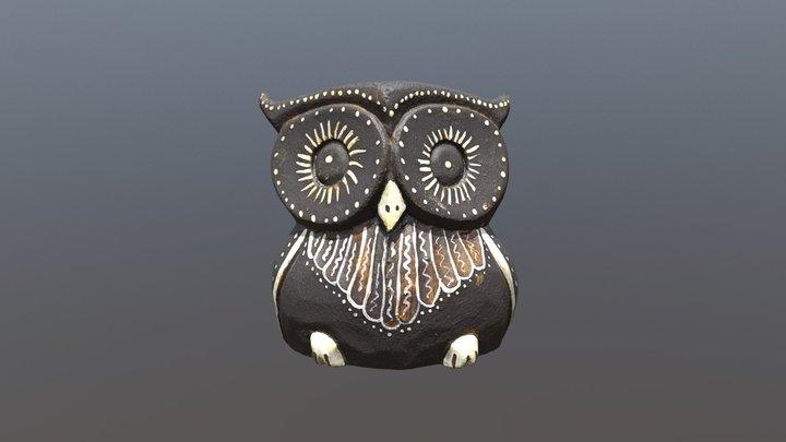 owl (high-poly) 3D Model