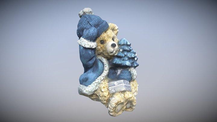Kerstbeer 3D Model