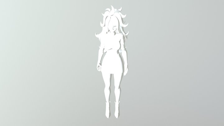 Androide 21 3D Model