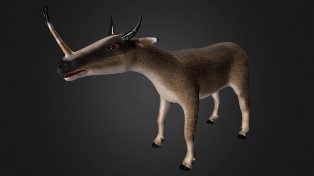 Syntethoceras 3D Model