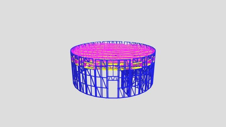 цилиндр 3D Model