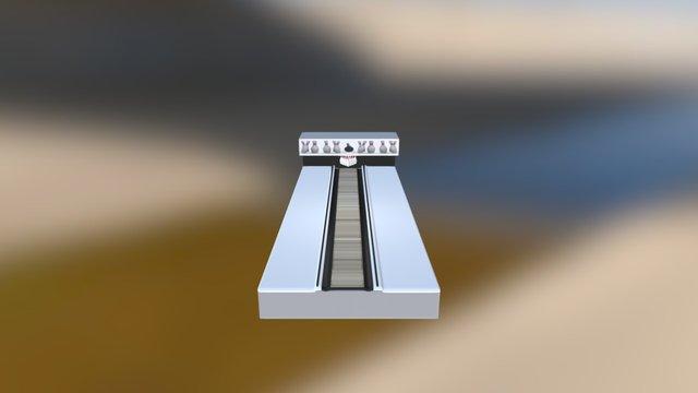 Bowling - Strike 3D Model