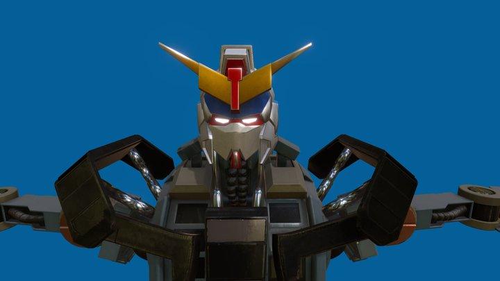 Gundam Barbatos Inner Frame 3D Model