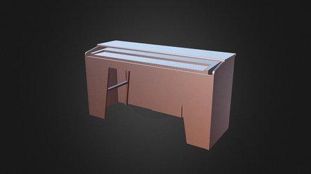CAJON ORGANO IÑAKI 3D Model