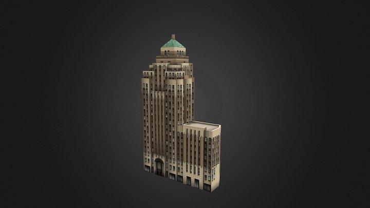 Marine building - Vancouver, Canada 3D Model