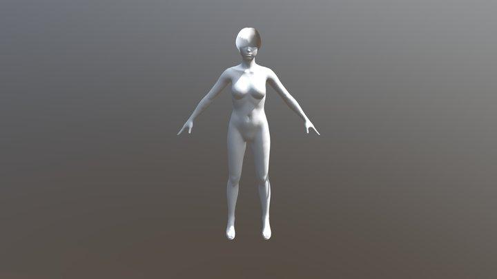 Avatar Chiara 3D Model
