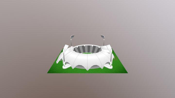 Stadium Lv14 3D Model
