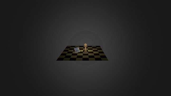 Activity 7: Chess Pawn 3D Model