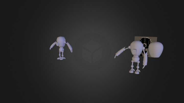 Robot Tutorial 3D Model
