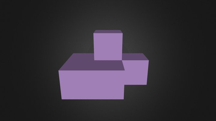 Purple Part 3D Model