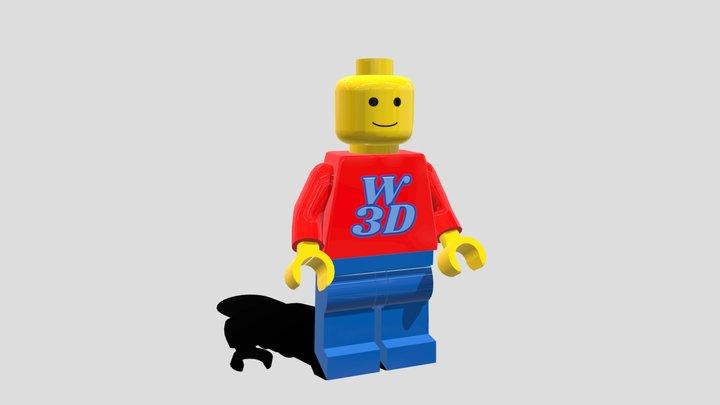 LEGO Puby 3D Model