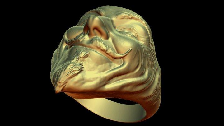 Vendetta ring 3D Model