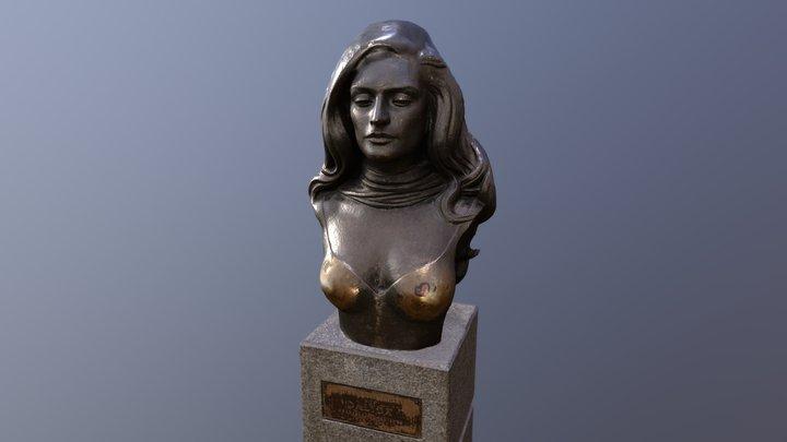 Buste de Dalida - Montmarte, Paris 3D Model