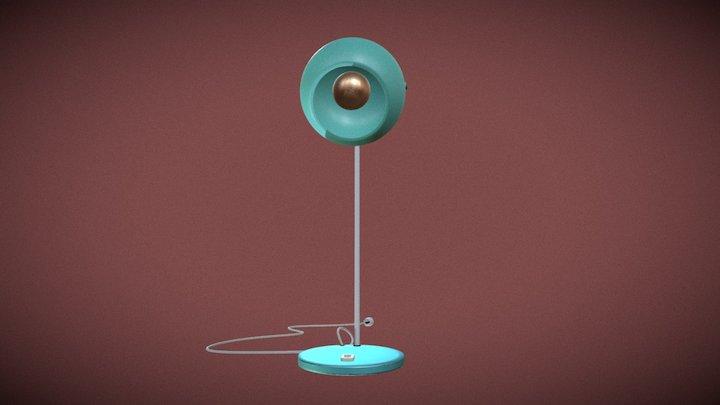 lampe de bureau 3D Model