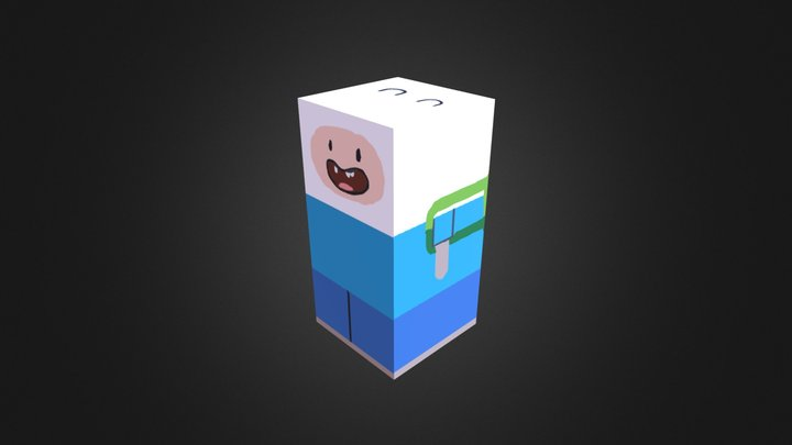 Finn 3D Model