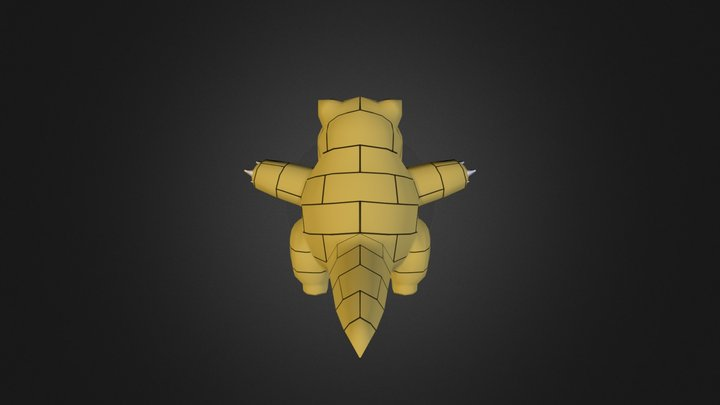 Sandshrew Update #1 3D Model