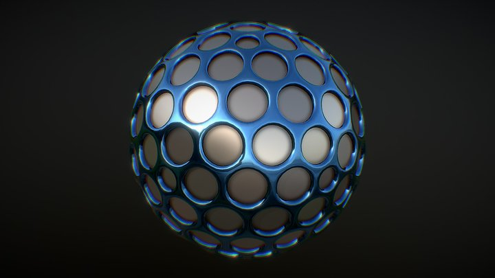 Spherical 3D Model
