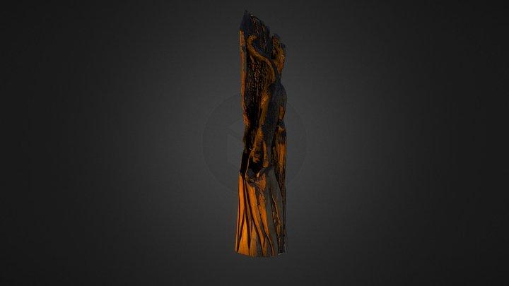 Tahoe Tree Cat Sculpt 3D Model