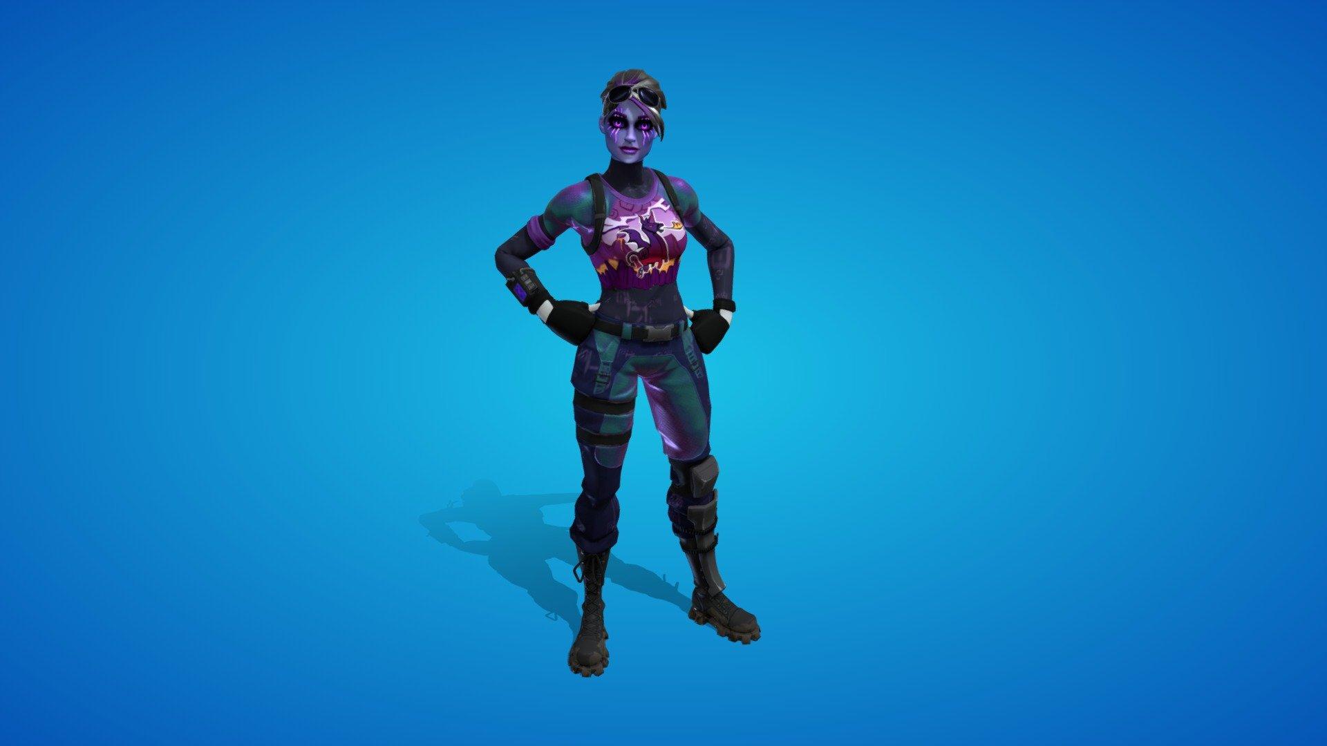 Dark Bomber Outfit 3d Model By Fortnite Skins Fortniteskins 851b6e3 Sketchfab