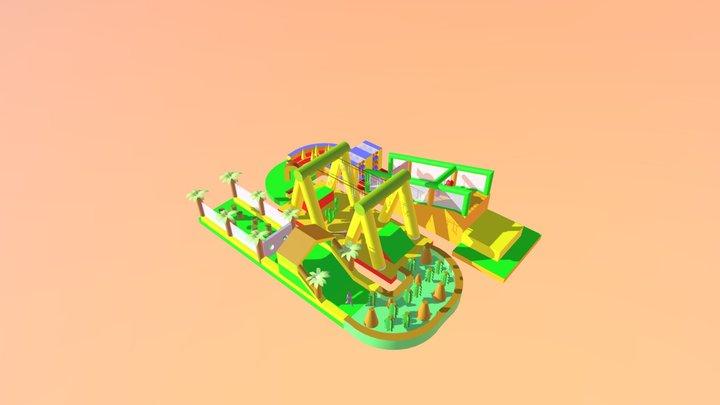 Mega Stormbaan 70m S 3D Model