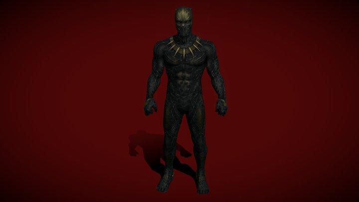 Killmonger 3D Model