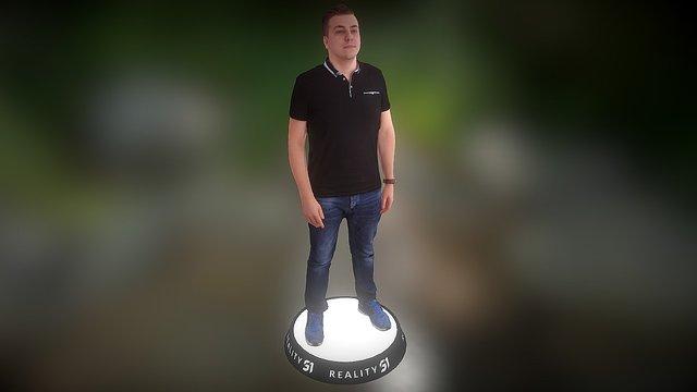 Human Scan 1411 3D Model