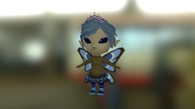 Glitch ava-Shukugumo 3D Model