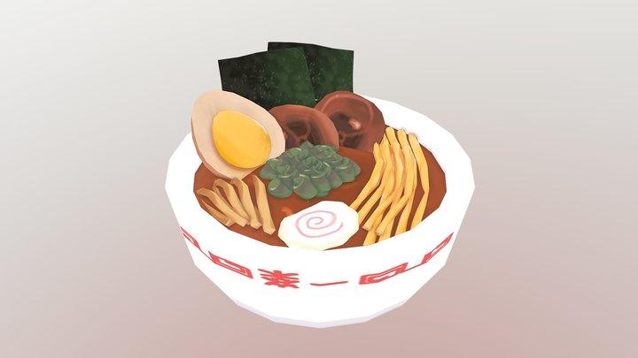 Ichiraku Ramen 3D Model