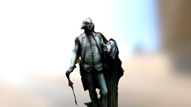George Washington Statue 3D Model