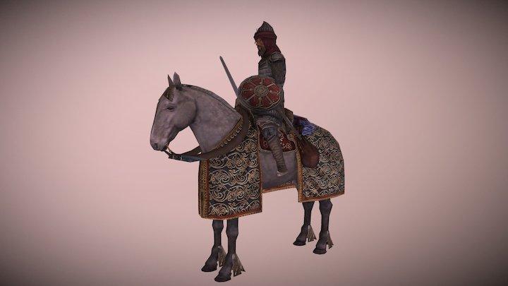 Hafsid Horse General (Machiavello Mod) 3D Model