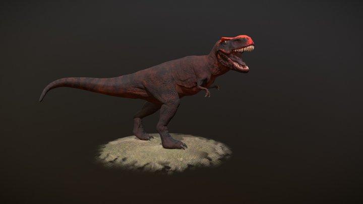Roaring Trex 3D Model