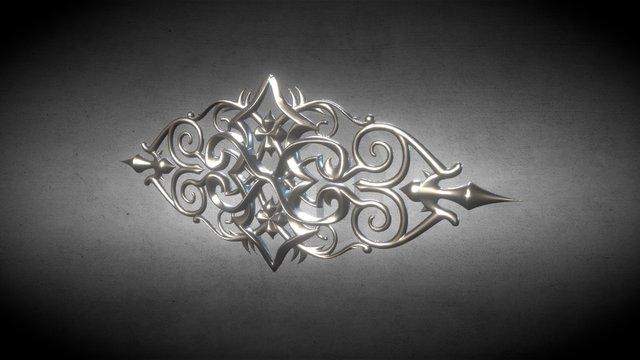 Ornament 001 3D Model