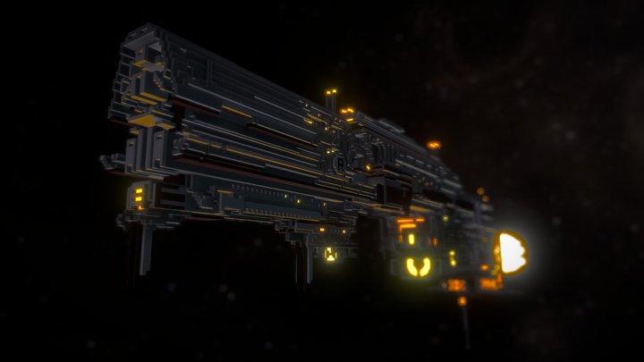 Battlecruiser class - Runifik 3D Model
