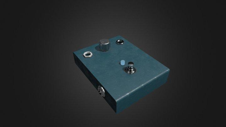 Effector Pedal 3D Model