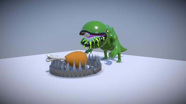 Forbidden Snack 3D Model