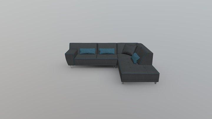 sofa_L1 3D Model