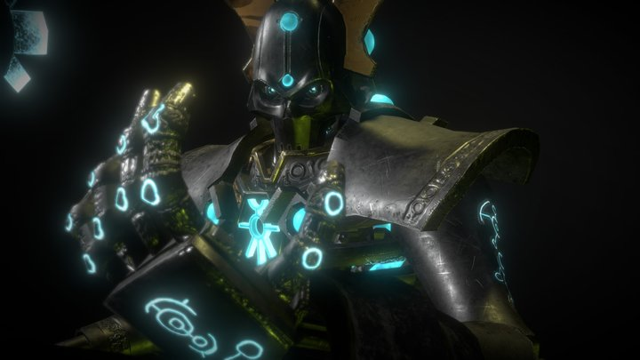 Anrakyr the Traveler 3D Model