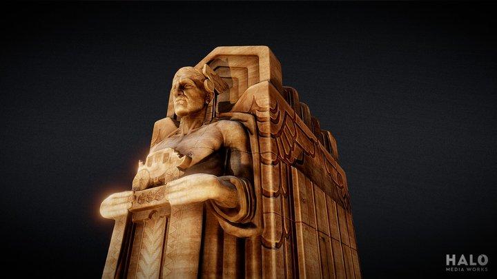 'Guardians of Traffic' Pillar 3D Model