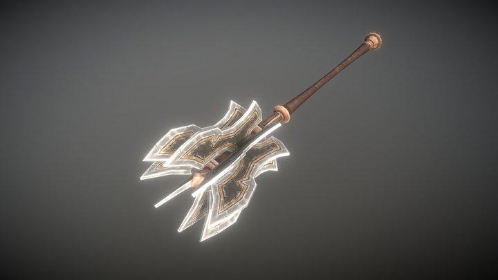 Fantasy Armory - Two Handed Heavy Mace 01 3D Model