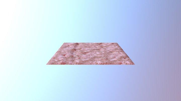 Desert Ground 3D Model