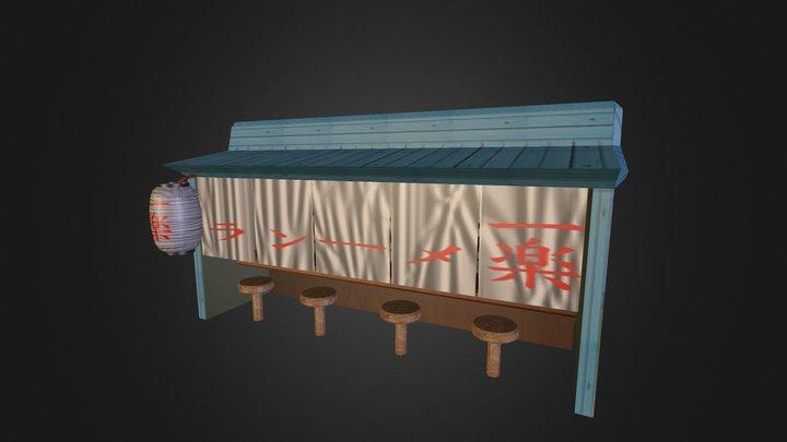 Puesto-ramen 3D Model