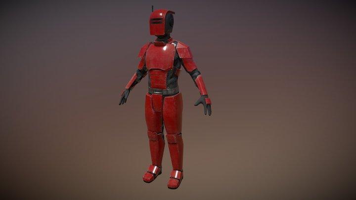 ShellGuard Soldier 3D Model