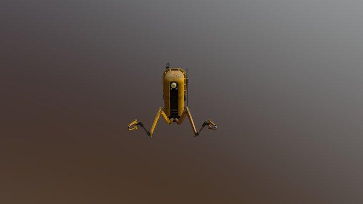 Repair Bot 3D Model