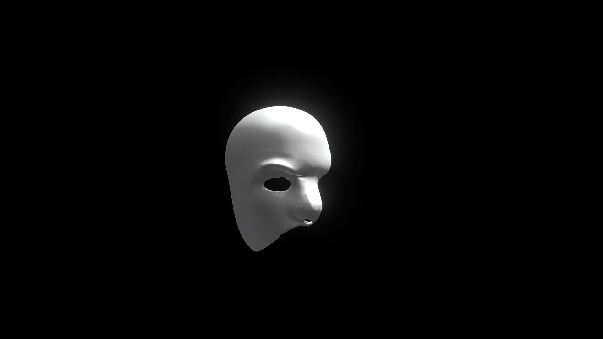 Phantom Of The Opera Mask Download Free 3d Model By Youknowwho