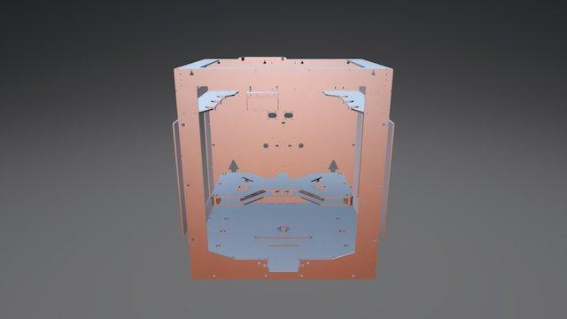 Big Box XLS 3D Model