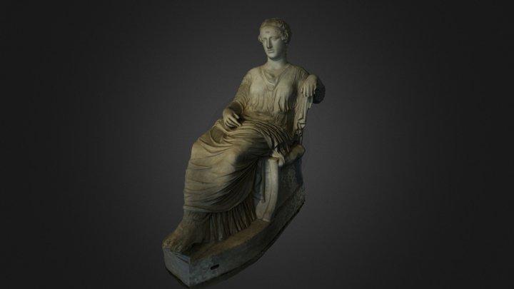 Afrodite seduta 3D Model