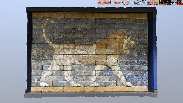 Lion, Ishtar Gate (605-562BC)