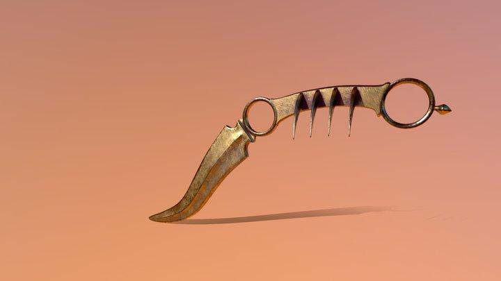 Tiger Claw 3D Model