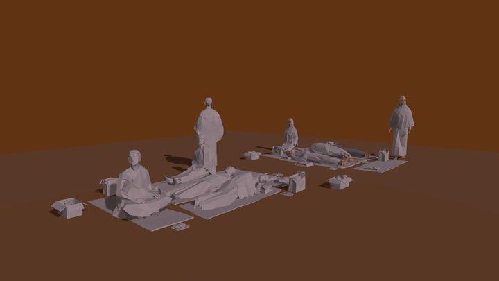 Muzdalifah 3D Model